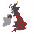 Separation of Wales from the rest of the UK
